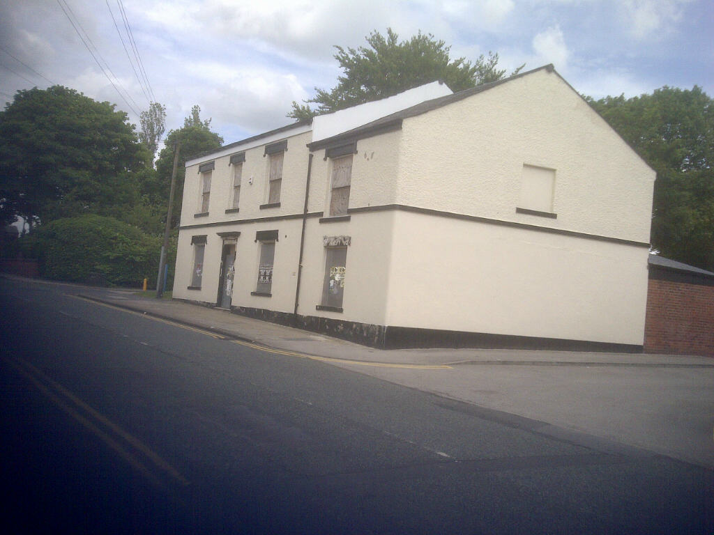 The former Commercial pub