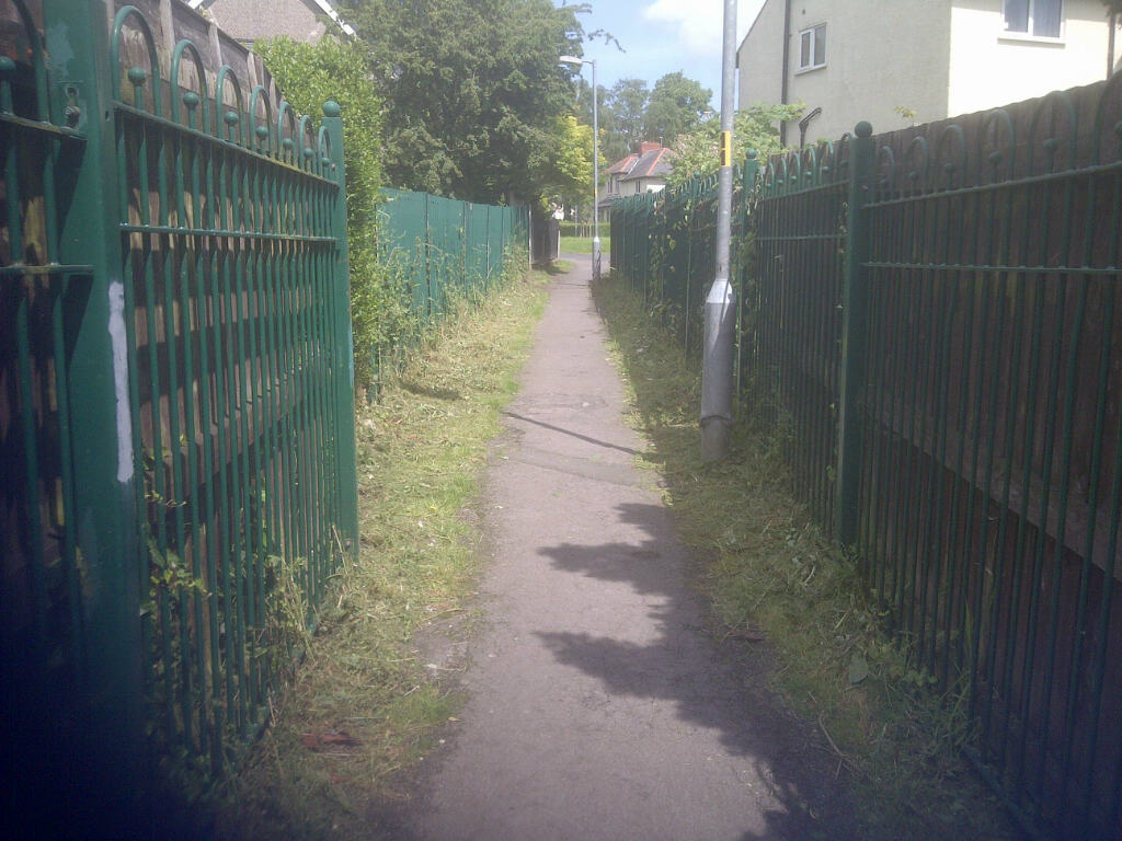 The Gorsey Hey walkway has been cleared