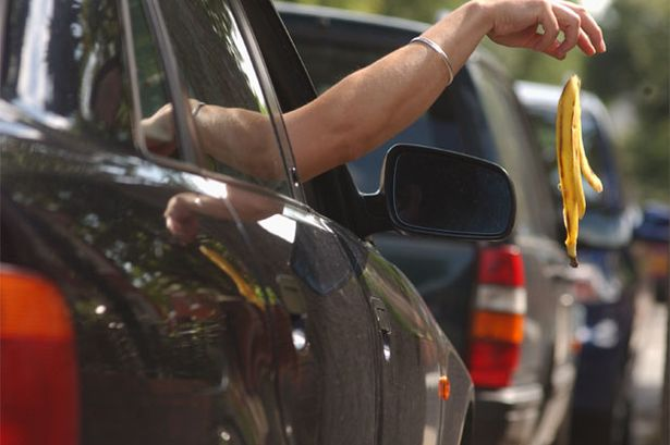 Should motorists be fined for dropping litter?