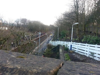 No step free access to Daisy Hill's platforms