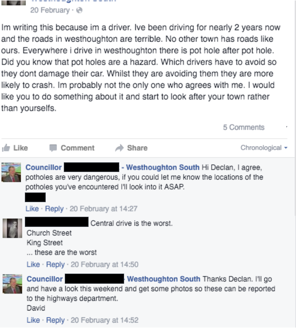 The Facebook exchange that proves Labour failed to act