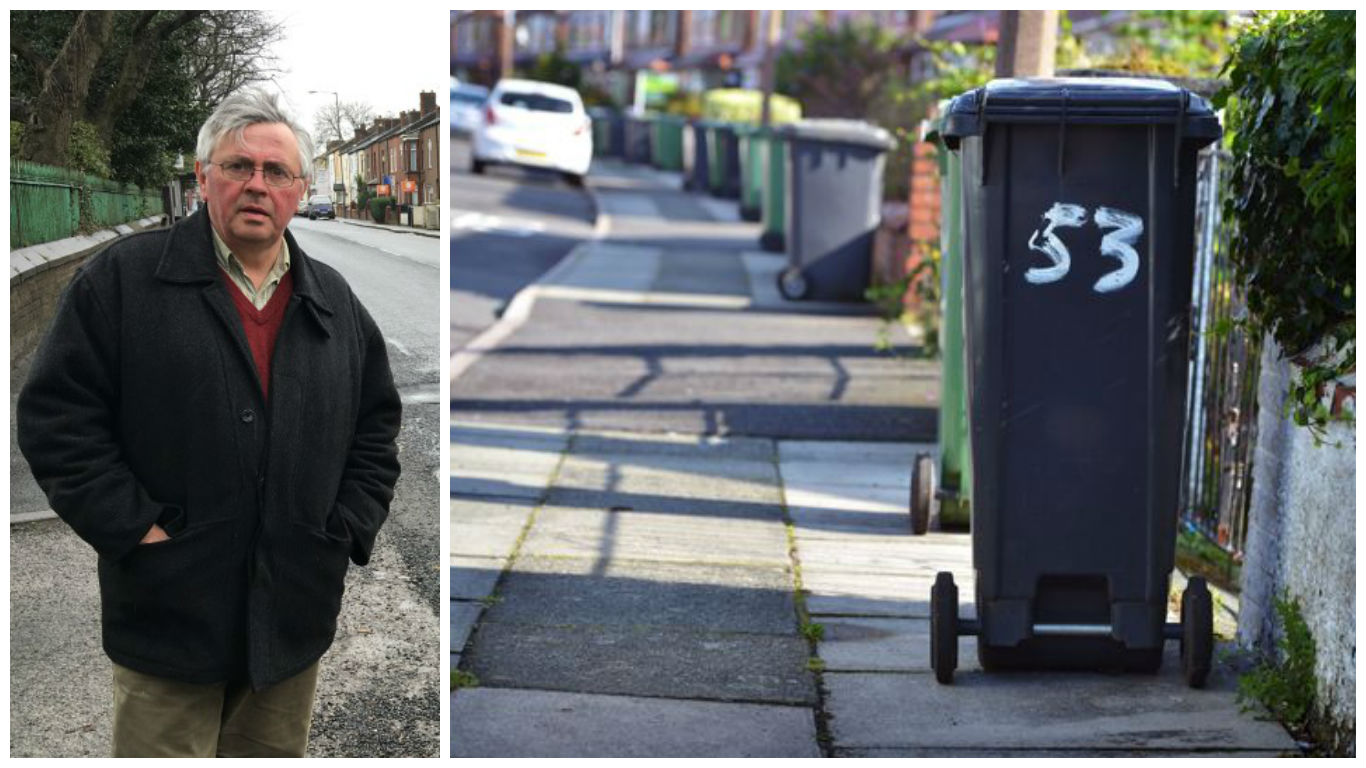 David Wilkinson opposes the slim bins