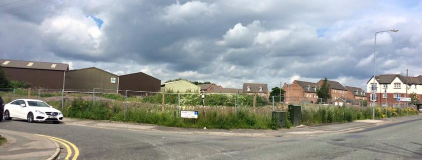 Land approved for 28 houses on Church Street