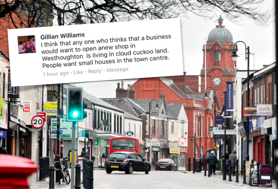 A comment by Labour councillor Gillian Williams